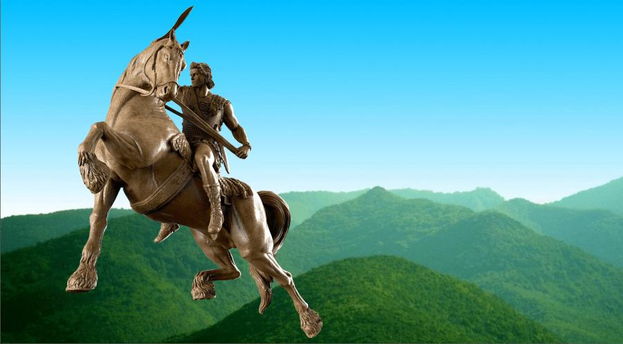 Μέγας Αλέξανδρος και Αμφίπολη
